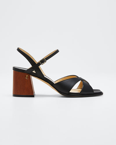 Joya 65mm Leather Sandals