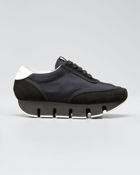 Image 1 of 1: Big Cut Suede Sneakers