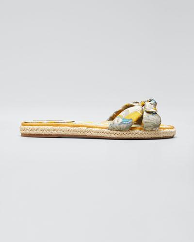Heli Brocade Espadrille Sandals  Multi
