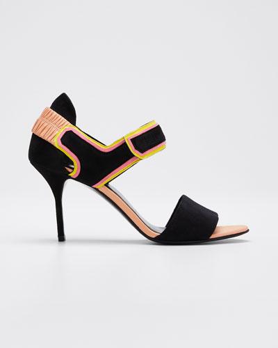 Trixi Colorblock Heel Sandals