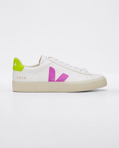 Jaune Fluo Flat Sneakers
