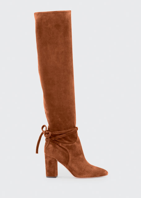 Image 1 of 1: Milano Scrunched Knee-High Boot