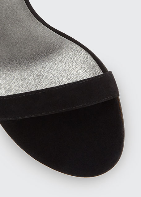 Nearlynude Suede City Sandals