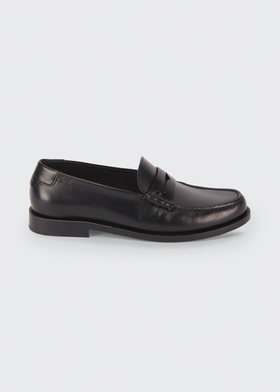 Pierre Leather Penny Loafers