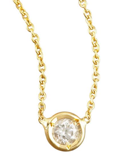 Station Diamond Necklace