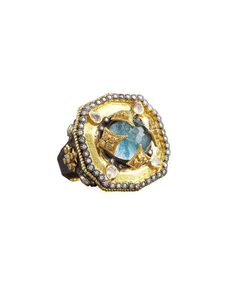 Heraldica Decagon Ring