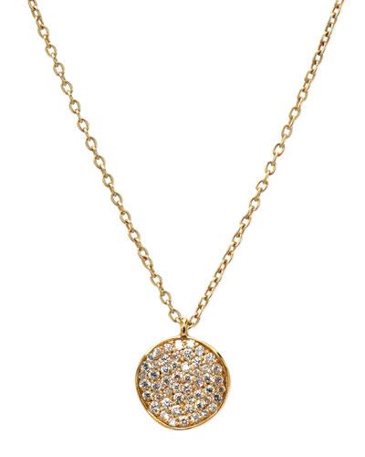 Stardust Diamond Pendant Necklace