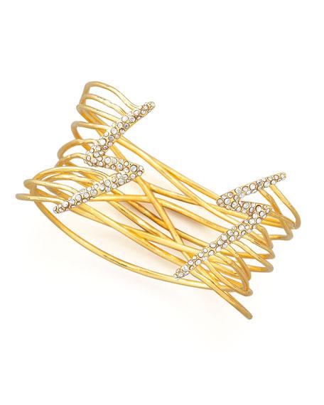 Lightning Bolt Cuff Bracelet