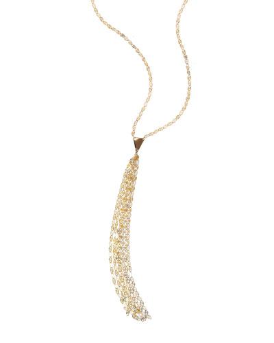14k Petite Tassel Necklace