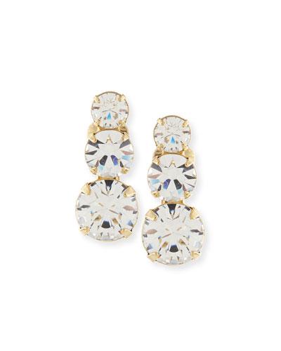 Nova Crystal Clip-On Earrings