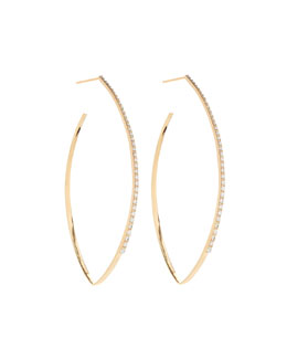 Mirage Blake Diamond Hoop Earrings