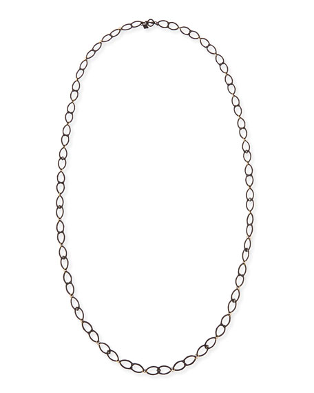 Armenta Old World Open Shield Link Necklace