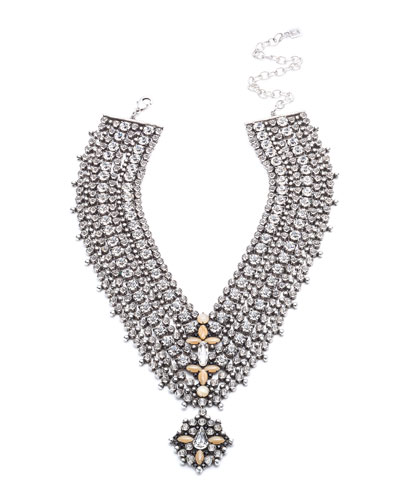 Sorella Crystal Statement Necklace