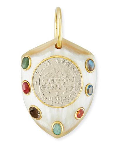 Mpenzi Light Horn, Coin & Gem Pendant Enhancer