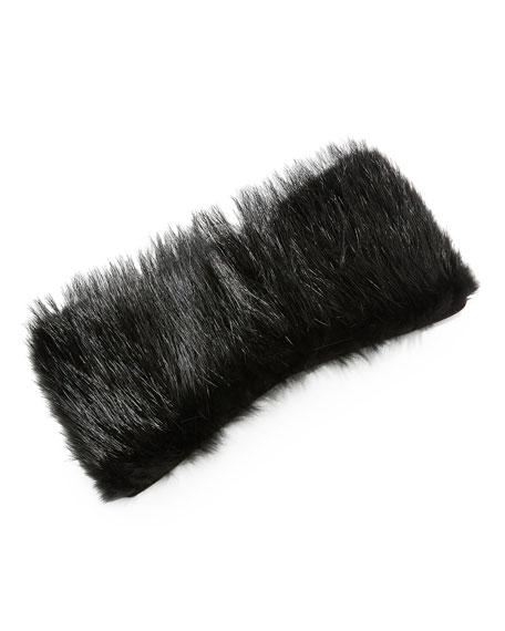 Iside Beaver Fur Handle Cover for Handbag