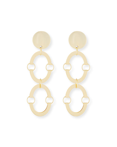 Image 1 of 1: Golden Arch Clip-On Earrings