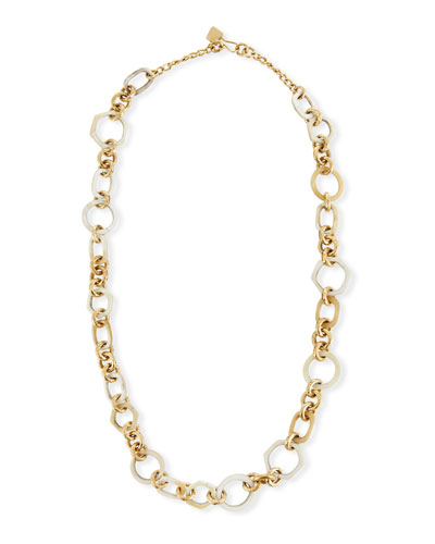 Shauri Light Horn Link Necklace