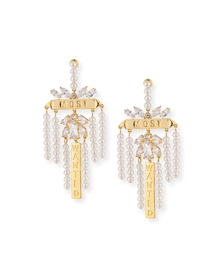 Fallon Monarch Most Wanted Drop Earrings
