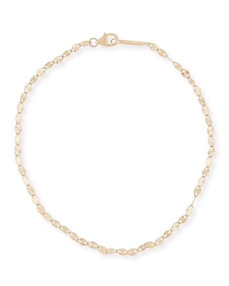 LANA 14k Gold Mega Blake Chain Anklet
