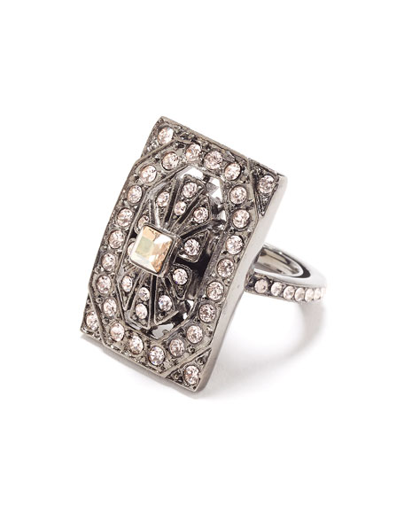 Multi-Crystal Square Ring