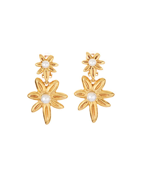 Stars Clip-On Earrings