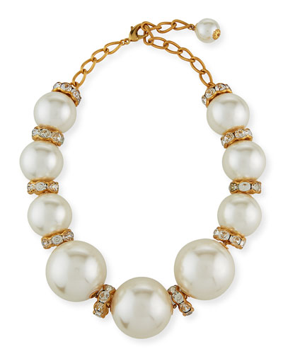 Collana Maxi Pearly Necklace