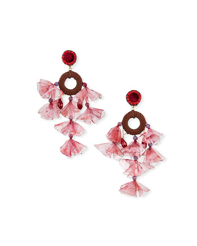 Kheta Clip Dangle Earrings