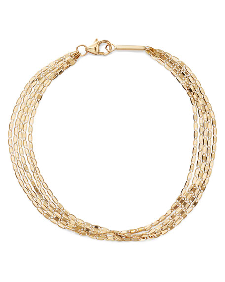 14k Malibu 5-Strand Bracelet