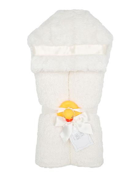 Plush Hooded Towel