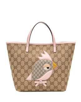 Gucci Children's Gucci Zoo Handbag, Pink