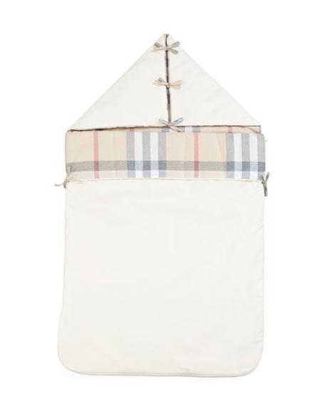 Lena Hooded Sleeping Bag, Cream