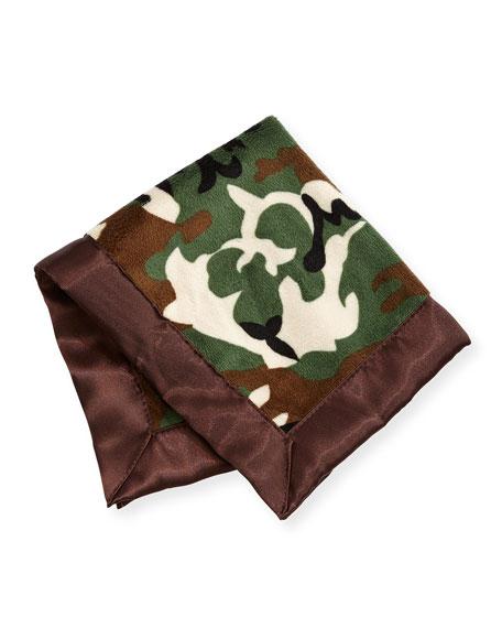 Swankie Blankie Camouflage Security Blanket, Brown