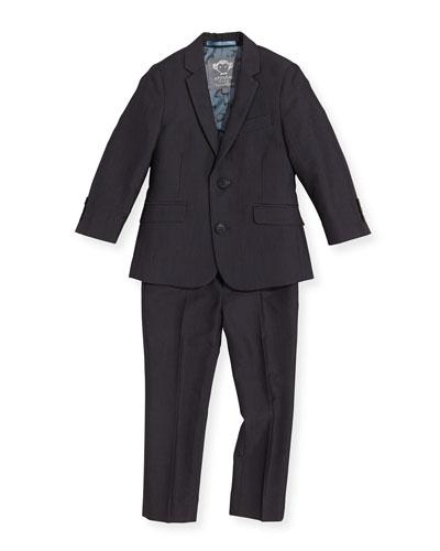 Boys' Two-Piece Mod Suit  Vintage Black  2T-14