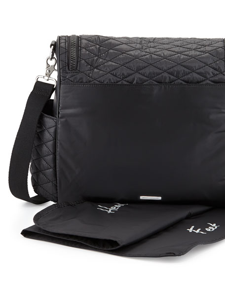 Jude Quilted Baby Bag