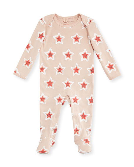 Rufus Long-Sleeve Cosmic Star Footie Pajamas, Size 3-9 Months