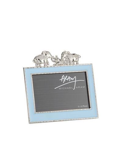 Boys' Elephant 4 x 6 Picture Frame  Blue