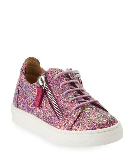 Mattaglitt Glitter Low-Top Sneakers, Infant