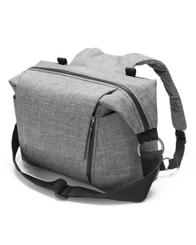 Changing Bag  Black Pattern
