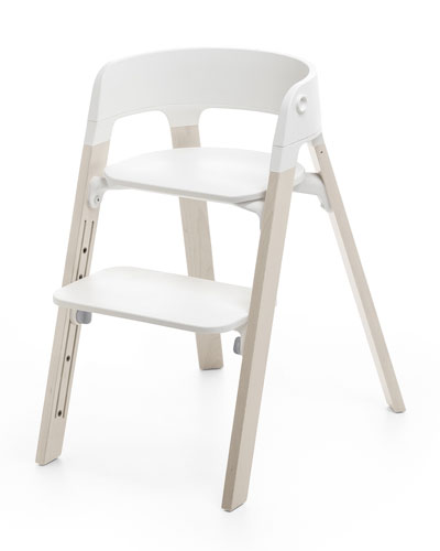 Steps Complete Chair  White