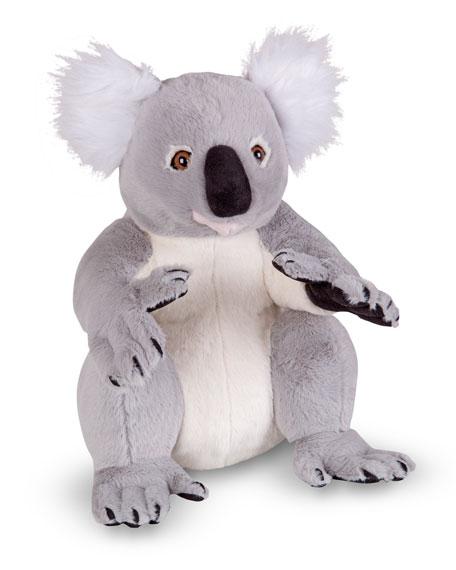 Sitting Stuffed Plush Lifelike Koala Bear