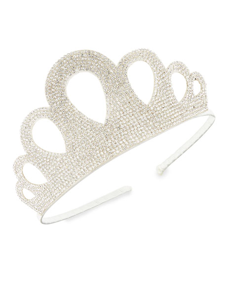 Baby's Crystal Embellished Crown Headband