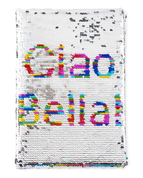 Kids' Flip Sequin Ciao Bella Travel Journal