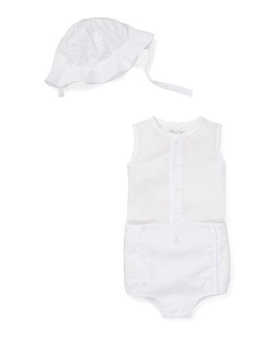 Three-Piece Outfit Sun Set  Size 6-24 Months