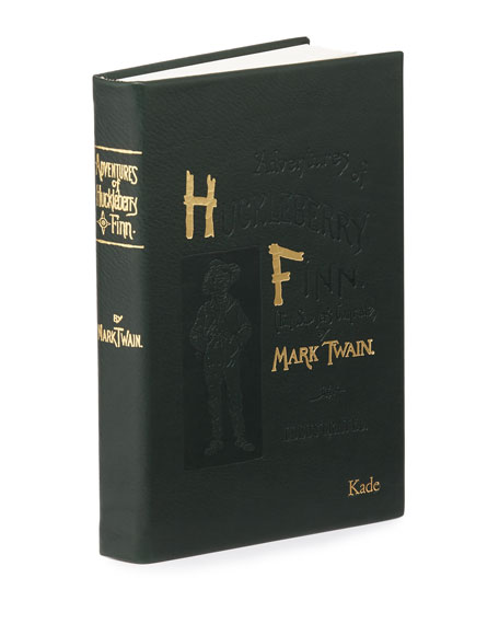 """Adventures of Huckleberry Fin"" Book By Mark Twain, Personalized"