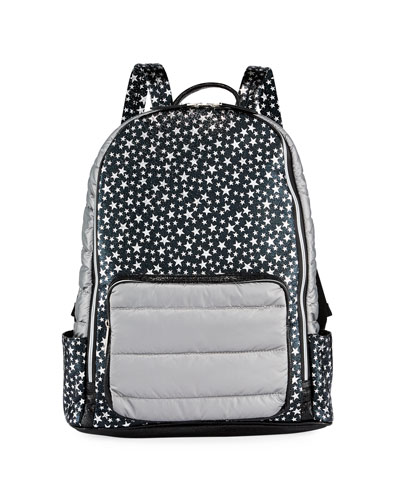 Girls' Star-Print Backpack