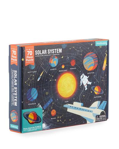70-Piece Solar System Puzzle
