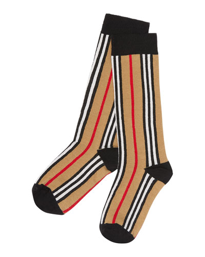 Kid's Icon Stripe Socks