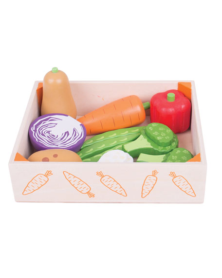 Vegetables in Crate Playset
