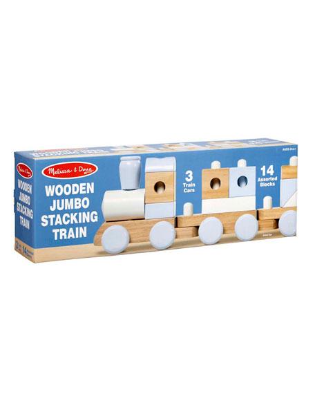 Jumbo Stacking Train Toy Set
