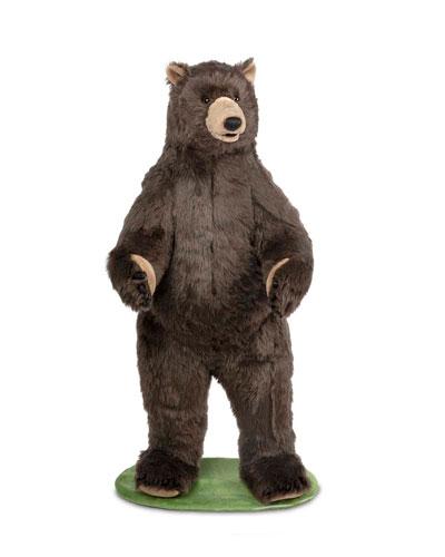 Grizzly Bear Plush Doll